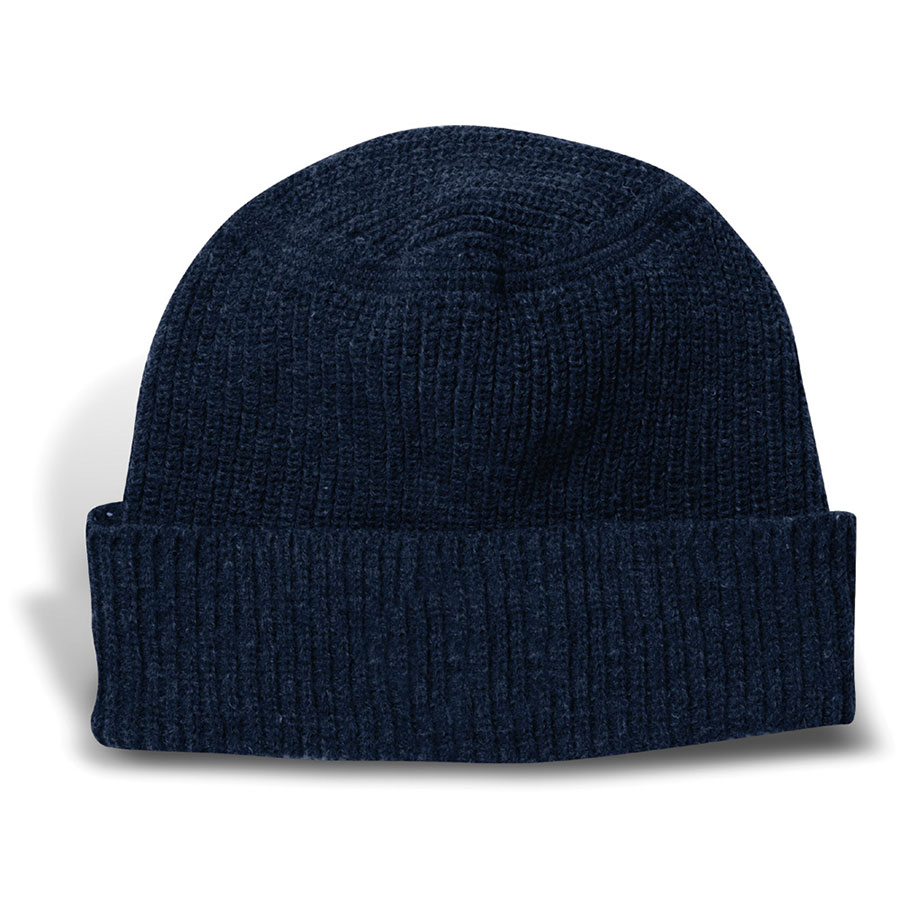 ce628c5d275 Heavyweight Knit Harbor Beanie with Cuff and Oval Crown